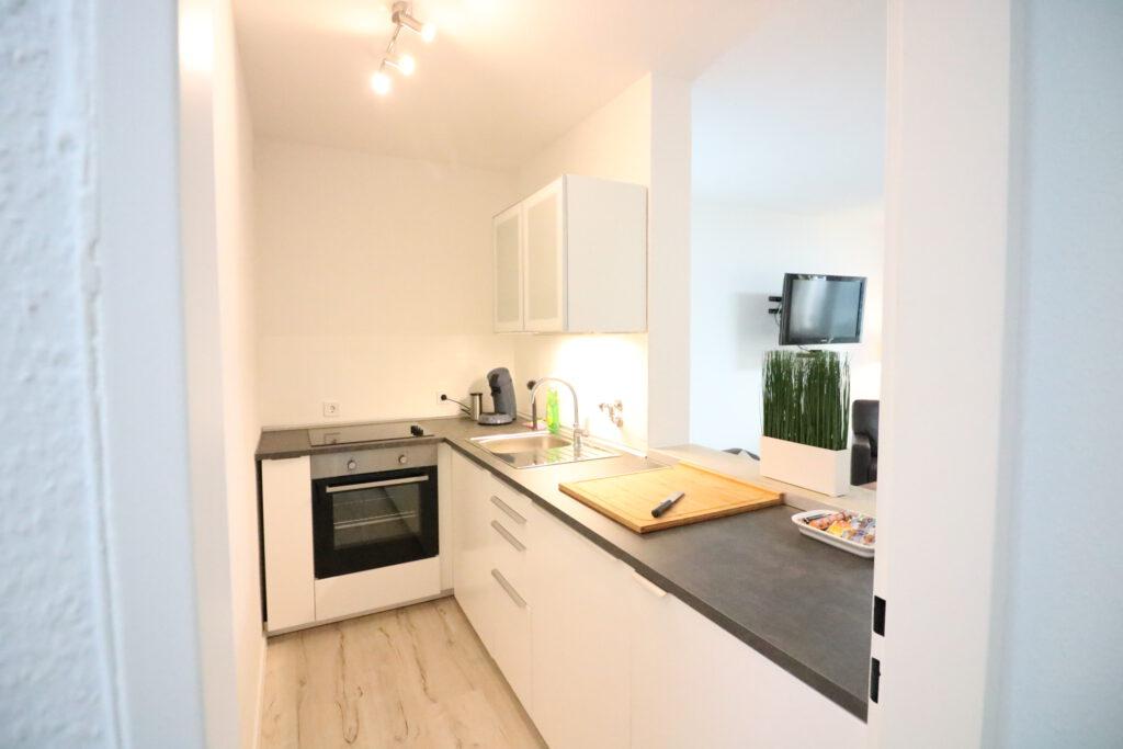 schickes City-Appartement in Langenhagen Zentrum mit Tiefgarage